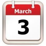 figure with calendar date